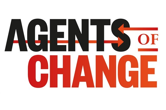 agents of change award logo