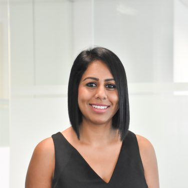 f.d.m. Singapore Recruitment and Client Relationship Executive Annika Kataria.
