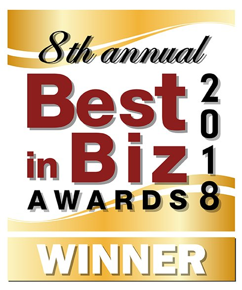 An image of the Best in Biz Awards North America – Best Place to Work Gold Award logo