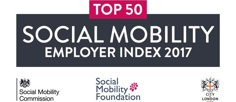 TOP50 Social Mobility Employer Index 2017