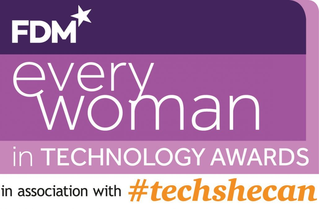 Every Women in technology awards badge