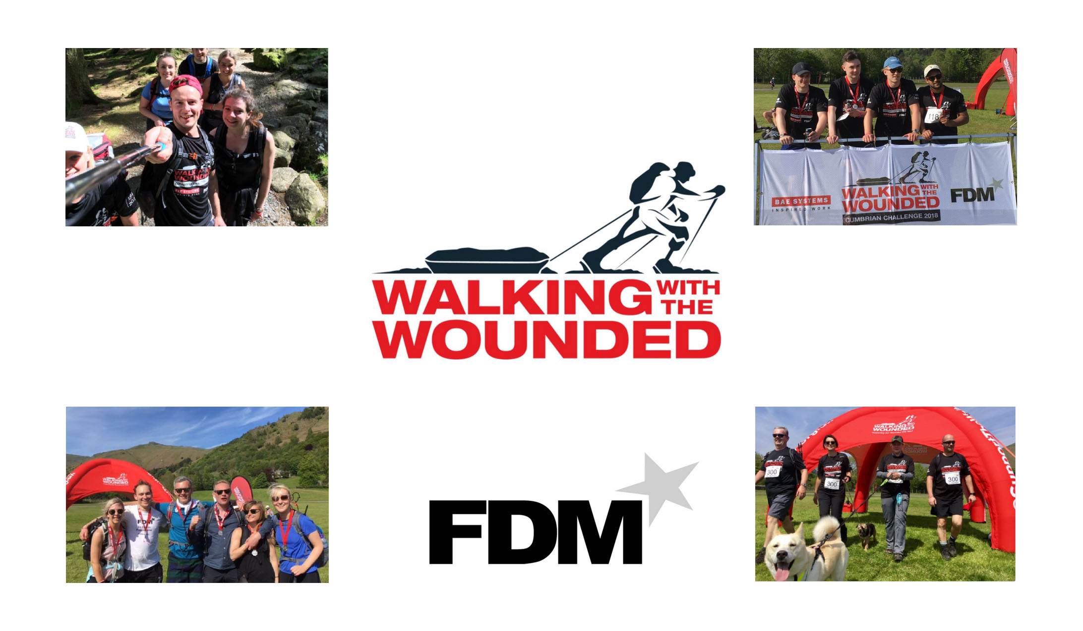 FDM Walking With The Wounded Cumbrian Challenge