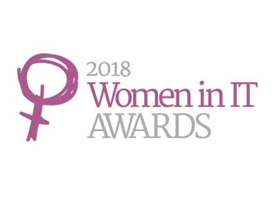 2018 Women in IT awards logo