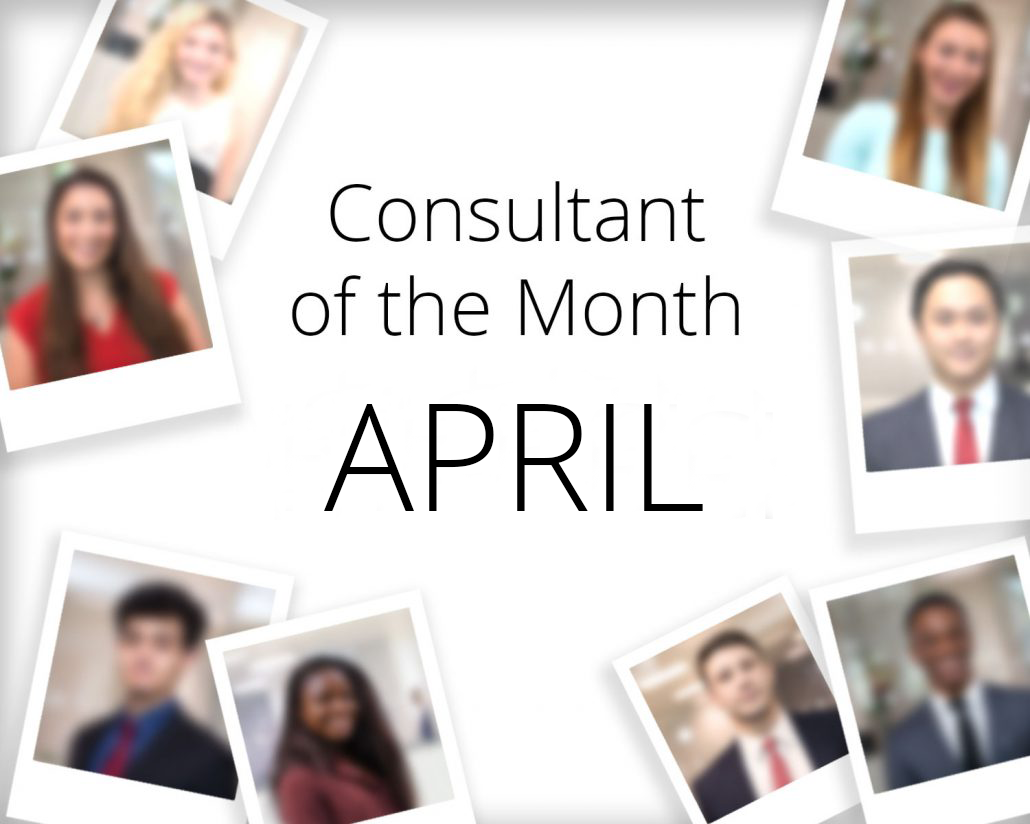 Consultant of the Month - April