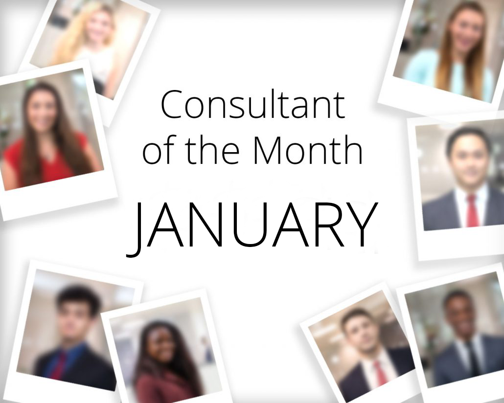 Consultant of the month - January