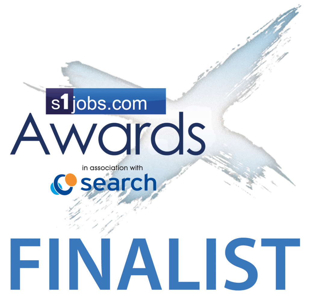 S1 jobs dot com awards finalist badge