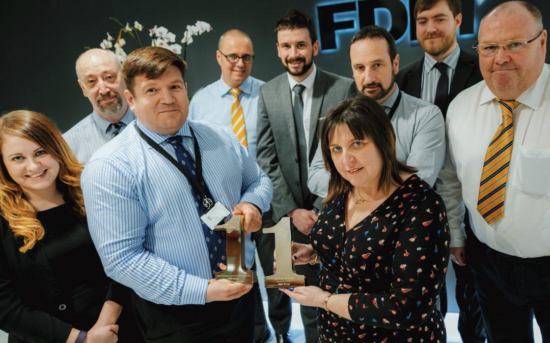 FDM Scotland Triumphant at s1Jobs Recruitment Awards